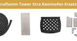 Austroflamm Tower Xtra Kaminofen Ersatzteile