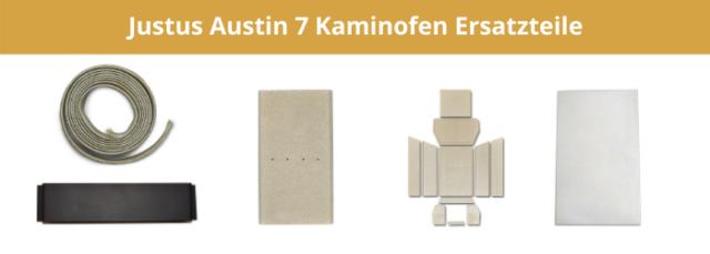 Justus Austin 7 Kaminofen Ersatzteile