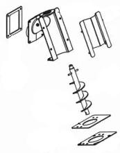 Förderschnecken für MCZ Pelletöfen