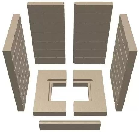 Brennraumauskleidungen für Schmid Kaminöfen