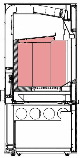 Feuerrraumauskleidungen für Wodtke Kaminöfen