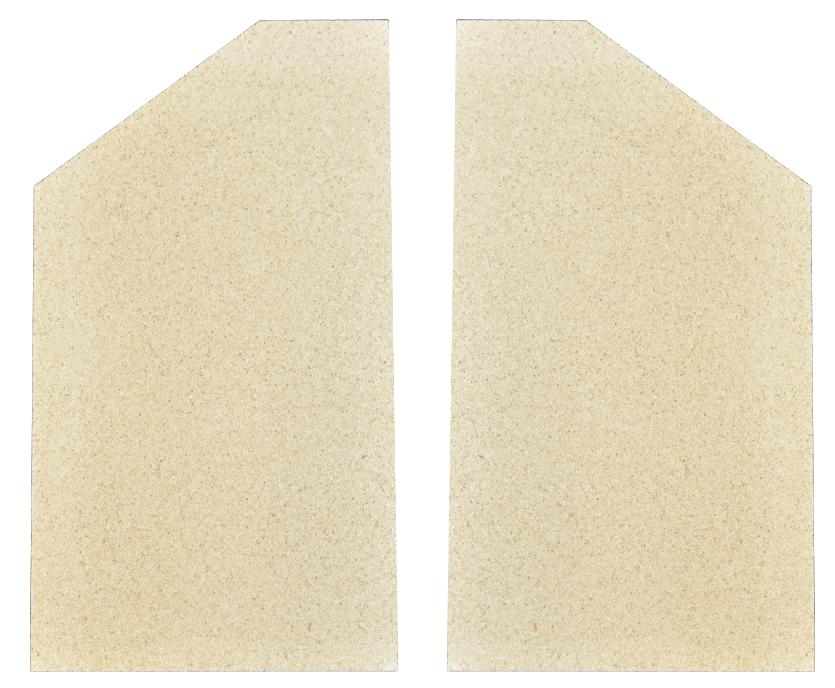 Seitensteine für Weso Kaminöfen