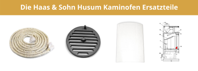 Die Haas & Sohn Husum Kaminofen Ersatzteile