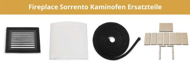 Fireplace Sorrento Kaminofen Ersatzteile