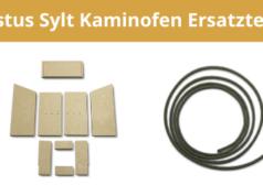 Justus Sylt Kaminofen Ersatzteile