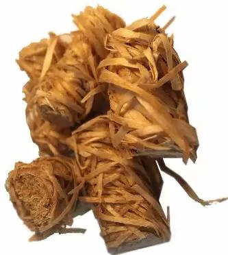 Natürliche Wachs und Holz Anzündhilfen