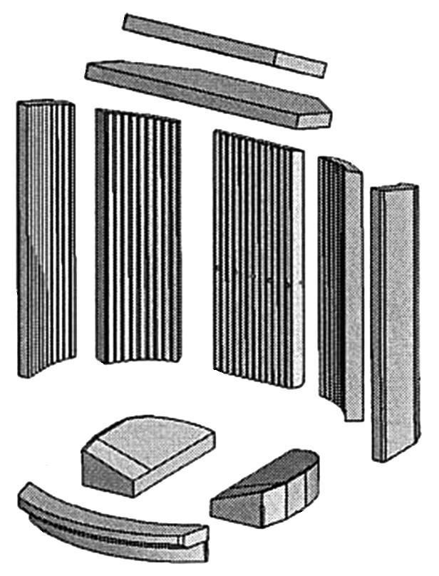 Verschleißanzeichen der Brennraumauskleidung - die Brennraumauskleidung von diesem Kaminofen auswechseln