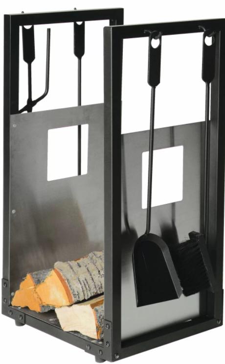 Die perfekte Ergänzung zu einem Kaminhandschuh - passendes Ofenbesteck