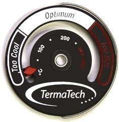 Thermometer von Termatech / Anbringung erfolgt magnetisch