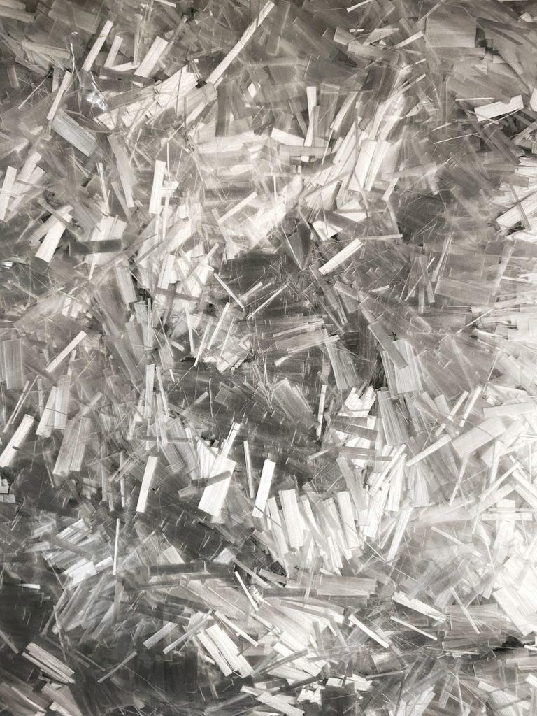 """Dichtungen bestehen aus Glasfasergewebe. Dies ist die """"Textil-Gewebestruktur"""" einer Glasfaser-Dichtung"""