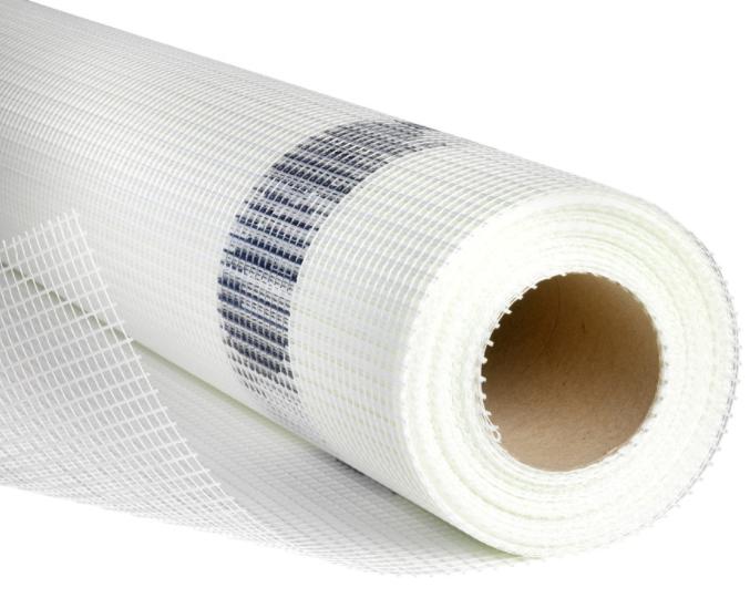 Glasfasernetz schützt den Putz und stabilisiert ihn