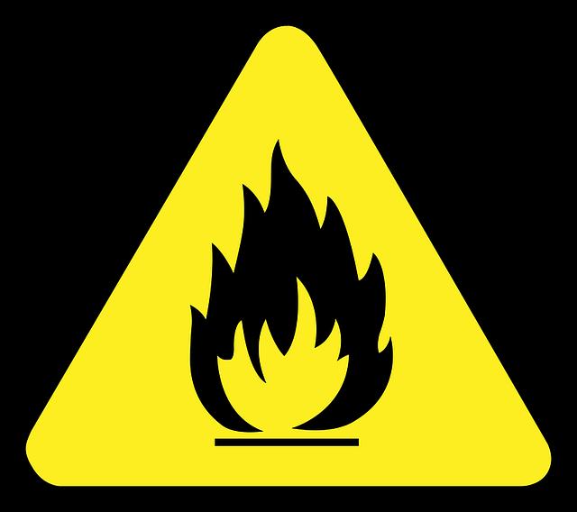 Einer der Hauptpunkte für die Abnahme ist die Brandschutzsicherheit